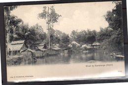 Netherlands Indies SAMALANGA (Atjeh) Bivak Scarce Card +/- 1905  (ni1-15) - Indonesia