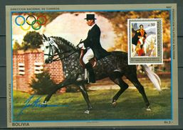 Bolivia 1987 - Olymp. Games Seoul - Mi Bl 171** MNH - Bolivie