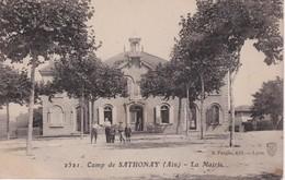 FRANCE 1920 CARTE POSTALE CE CAMP DE SATHONAY    LA MAIRIE - France