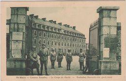Ille Et Vilaine :  SAINT  MALO ,  Caserne  Rocabey - Saint Malo