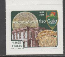 ITALY, 2017, MNH,  PRODUCTS, RICE, RISO GALLO,1v - Food