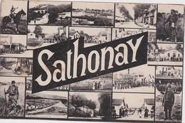 FRANCE 1920 CARTE POSTALE DE CAMP DE SATHONAY - France