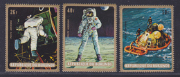 BURUNDI AERIENS N°  114 à 116 ** MNH Neufs Sans Charnière, TB  (D3548) Cosmos, Apollo 11 - 1962-69: Mint/hinged
