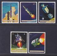 BURUNDI N°  337 à 341 ** MNH Neufs Sans Charnière, TB  (D3549) Cosmos, Apollo 11 - Burundi