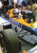 Grand Prix 1986  -  Nelson Piquet  -  Williams-Honda FW11    -  Carte Postale - Grand Prix / F1