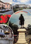 AIN  01  FERNEY - VOLTAIRE  VUES MULTIPLES  AUTOMOBILES - Ferney-Voltaire