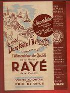 Publicité Pub Alimentation Générale Maison Rayé La Rochelle & Saint Martin De Ré & La Flotte - Timbres Primax - Food