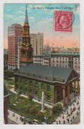 NEW YORK CITY - St. Paul's Chapel - (H. Finkelstein & Son) - Églises