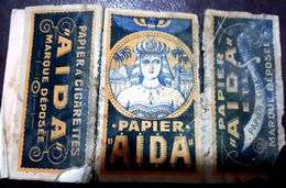 France,PAPER OF CIGARETTES #1919 (Aida),Poor . - Cigarette Holders