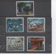 BHOUTAN - Conquête De L'espace : Jules Vernes, V2 Allemand, Vostok, Mariner II, Gemini VII, Mise à Feu, Gemini IV, - Bhutan