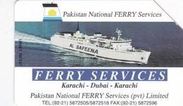 Pakistan, PAK-M-18, Ferry Services, 2 Scans - Pakistan