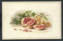 +++ CPA - Carte Fantaisie - Illustrateur CATHARINA KLEIN - Fruit - Cachet Relais OLLIGNIES  1912    // - Klein, Catharina