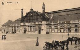 BELGIQUE - ANVERS - MALINES - La Gare. - Malines