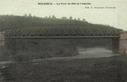 BELGIQUE - LUXEMBOURG - HOTTON - MELREUX - Le Pont De Fer Et L'Ourthe. - Hotton