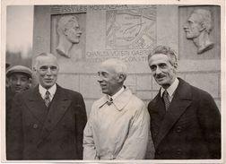 Aviation - Aviateurs Farman - Santos Dumont - Gabriel Voisin - 1930 - Photographie