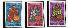1978 - NORFOLK ISLAND - Mi. Nr.  220/222 - NH -  (UP.70.6) - Isola Norfolk