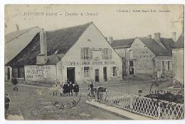 CPA 36 Indre Issoudin Quartier De Chinault Café De L'Union épicerie Billard. - Issoudun