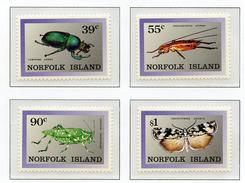 1989 - NORFOLK ISLAND - Mi. Nr.  451/454 - NH -  (UP.70.6) - Isola Norfolk