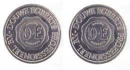 00088 GETTONE JETON TOKEN VENDING BEVERAGE DISPENSER MACHINE DOUWE EGBERTS PROFESSIONEEL B.V. - Zonder Classificatie