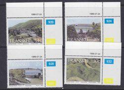 Transkei 1986 Hydro Electric Power 4v (corners) ** Mnh (37233) - Transkei