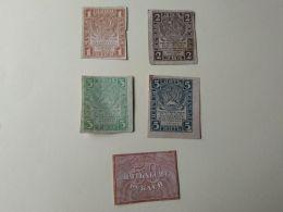 Russia 1919  0.5 1 2 3 5  Kopeki - Rusland