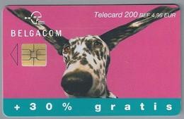 BE.- België. Telecard.- BELGACOM. . - EXTRA. HOND - 200 BEF. 4,96 EUR. - OJ 129345 - Belgique