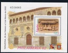 2002, Spanien, 3726 Block 105, PHILAIBERIA, Tarazona, MNH ** - Blokken & Velletjes