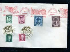 558-CZECHOSLOVAKIA- Jubille -T.G. M,ASARYK  COVER - Briefe U. Dokumente