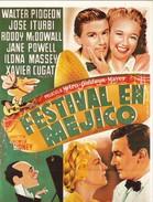 CPM Affiche De Film Spanish Posters FESTIVAL EN MEJICO Walter PIOGEON, Jose ITURBI, - Manifesti Su Carta
