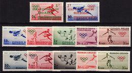 CD 48 - SUD-KASAI N° 18/19 + CONGO BELGE Et RUANDA-URUNDI Neufs** J.O.1960 - South-Kasaï