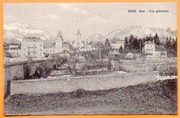 01 GEX  Voyagée 1915 Carte N° 47739 - Gex