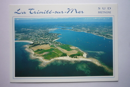 La Trinite Sur Mer (56470) La Pointe De Kerbihan Et Le Port  ( Vue Aerienne ) Bretagne Sud - La Trinite Sur Mer