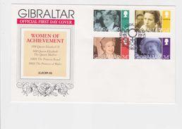 Gibraltar 1996 Royal Family,set ,Sc 703/6 On FDC          A137 - Gibraltar