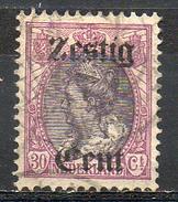 PAYS-BAS - (Royaume) - 1919 - N° 95 - 60 C. S. 30 C. Lilas Et Brun - (Timbre De 1909 Surchargé) - Gebruikt
