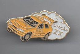 PINS PIN'S AUTO CITROEN   AUTOMOBILE CITROEN 30 MMS TOTAL MICHELIN DAKAR METAL ZX - Citroën