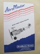 Planche De Décals Additionnels AEROMASTER 1/48e N° 48-074 FOKKER TRIPLAN   , Complète Et Non Commencée - Airplanes