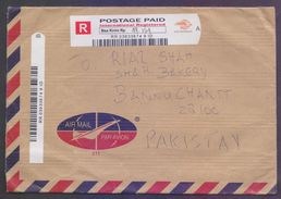 INDONESIA Postal History Cover REGISTERED Postage PAID Used From Bea Kirim Rp - Indonésie