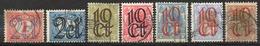 PAYS-BAS - (Royaume) - 1923 - N° 111 à 117 - (Lot De 7 Valeurs Différentes) - Oblitérés