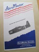 Planche De Décals Additionnels AEROMASTER 1/48e N° 48-030  F8F BEARCAT   , Complète Et Non Commencée - Airplanes
