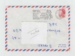 LSC 1982 - Flamme Vacances à PONT AVEN - PONT AVEN (Finistère) - Marcophilie (Lettres)