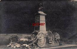 Carte Postale Photo RUBECOURT-LAMECOURT (Ardennes) Monument Aux Morts 1914-1918 - Enfants Morts Pour La FRANCE - Autres Communes