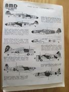 Planche De Décals Additionnels AEROMASTER 1/48e N° 48-002  AVIONS FINLANDAIS 1939-1945   , Complète Et Non Commencée - Airplanes