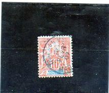B - 1900 Madagascar - Francobollo Francese - Usati