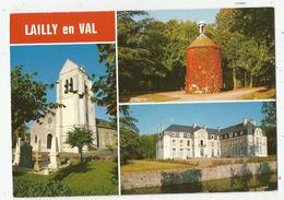 Lailly En Val (45 - Loiret)  Le Château , Le Pigeonnier , L'église - Frankreich