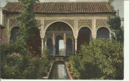 Granada - Generalife - Entrada à La Galeria De Retratos - 2 Scans - Granada