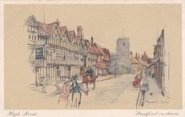 STRATFORD ON AVON - HIGH STREET. MARJORIE BATES - Stratford Upon Avon