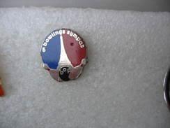 Pin's B.O.P. Bowling Porte De La Chapelle à PARIS. Bowling Sympa - Bowling