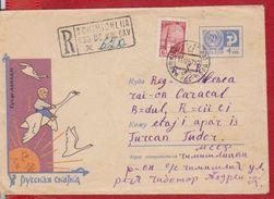 BIRD SWAN FAUNA RUSSIA POSTAL STATIONERY - Swans