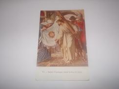 Sainte Véronique Essuie La Face De Jésus.Pélerinage à Lourdes 1947.Aumonerie Familles Des Disparus Et Prisonniers. - Jésus