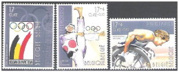 Belgio - 2000 - Nuovo/new MNH - Olimpiadi - Mi N. 2959/61 - Nuovi